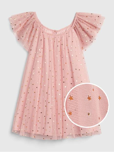Baby Star Tulle Dress