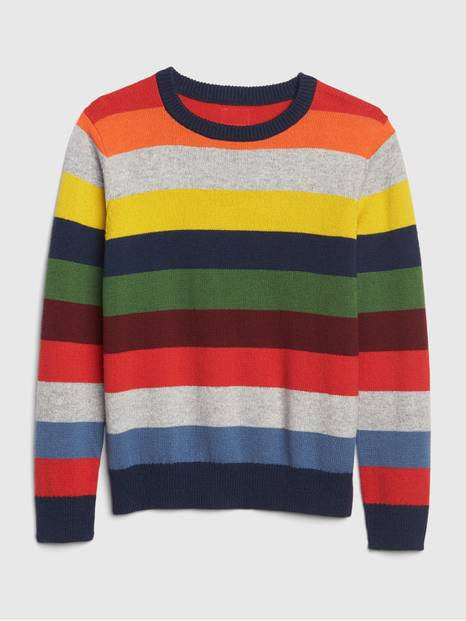 Kids Crazy Stripe Sweater