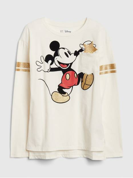 GapKids &#124 Disney Minnie Mouse and Mickey Mouse Tunic T-Shirt