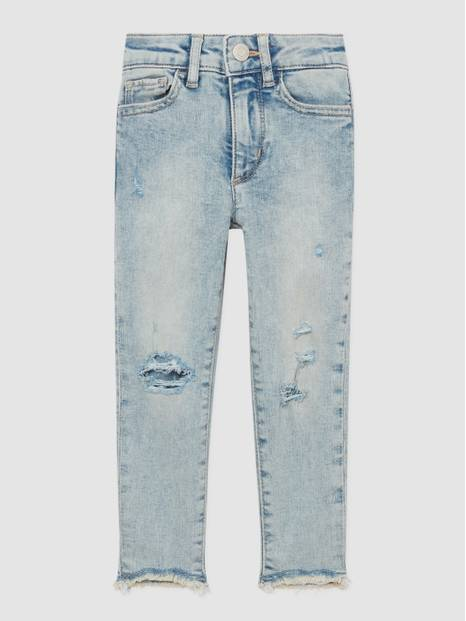 Kids Distressed High Rise Jeggings