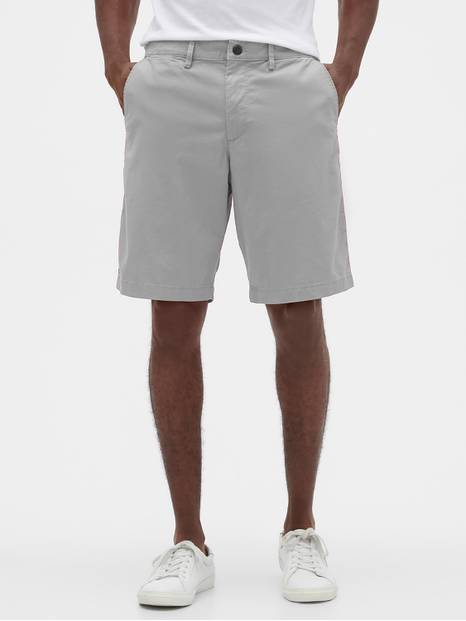 "10"" Essential Khaki Short with GapFlex"