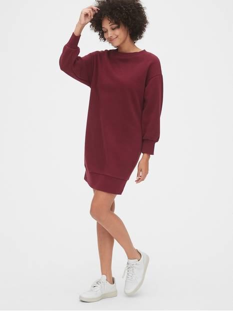 Vintage Soft Sweatshirt Dress