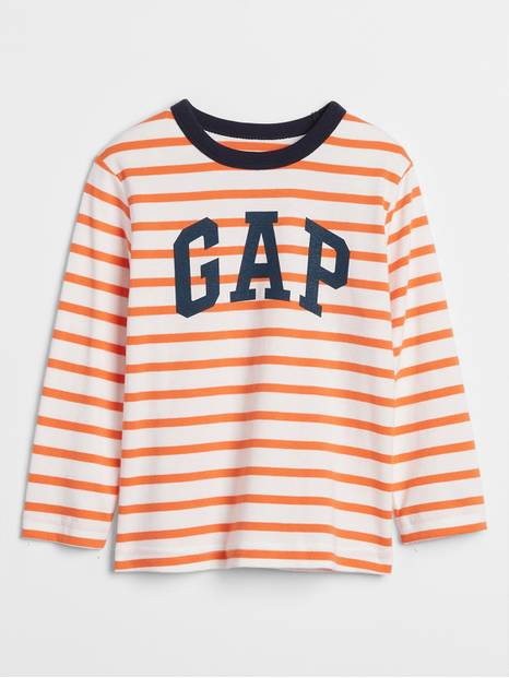 Toddler Gap Logo Stripe Long Sleeve T-Shirt