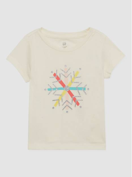 Toddler Gap Holiday Graphic Printed T-Shirt
