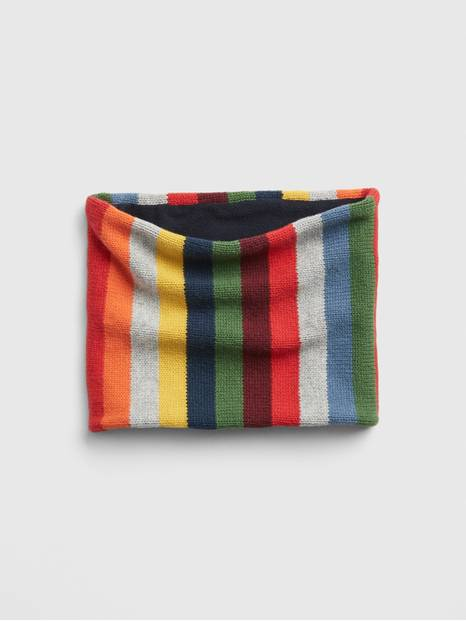 Kids Crazy Stripe Neckwarmer