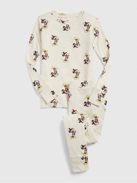 GapKids &#124 Disney Mickey Mouse Holiday PJ Set
