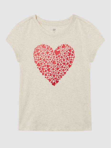 Kids Gap Graphic Print Short Sleeve T-Shirt