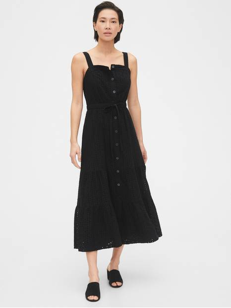 Apron Maxi Dress in TENCEL&#153