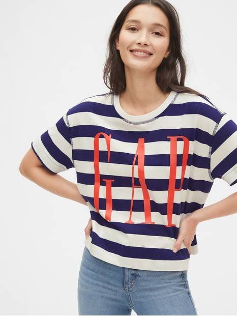 Soft Gap Logo Boxy T-Shirt