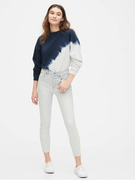 High Rise True Skinny Jeans