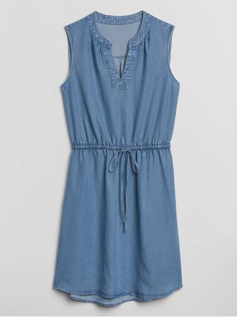 Shirtdress in TENCEL&#153