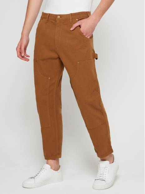 Canvas Carpenter Pants with GapFlex