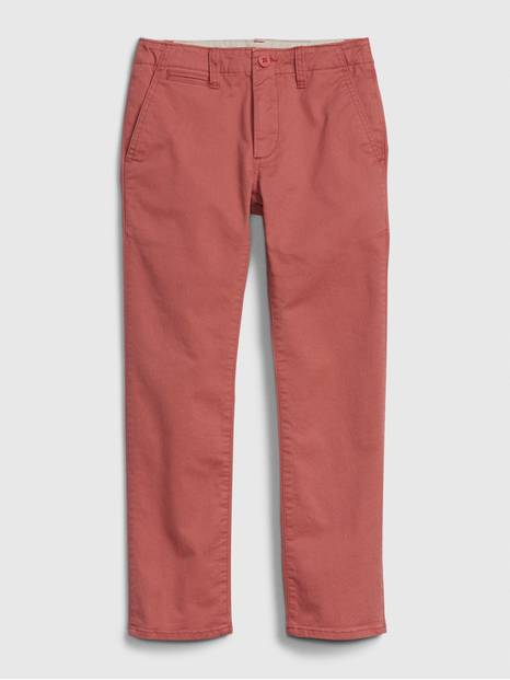 Kids Chinos in Stretch