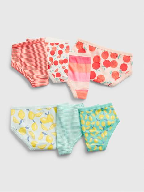 Toddler Fruit Bikini Briefs (7-Pack)