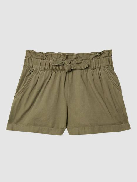 Toddler Paperbag-Waist Shorts