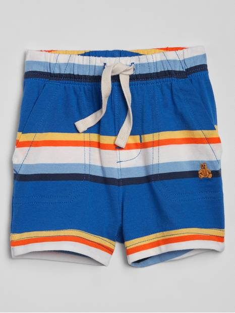 Baby Stripe Pull-On Shorts