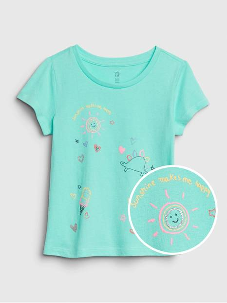 Toddler Short Sleeve Graphic T-Shirt