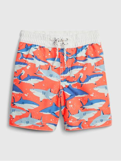 Toddler Shark Swim Trunks