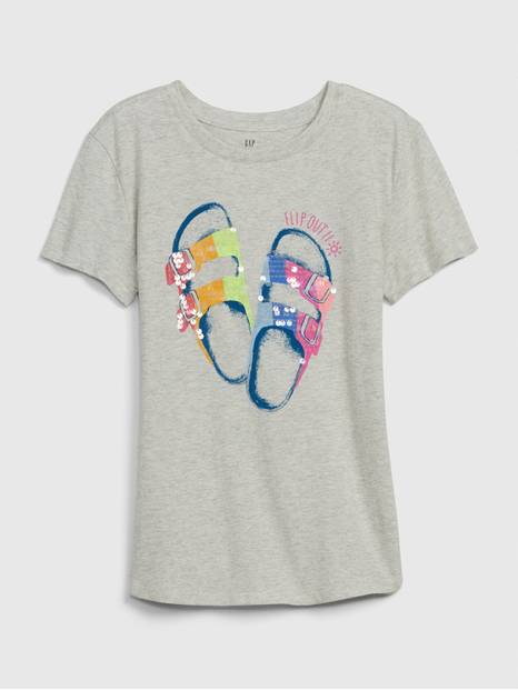 Kids Interactive Graphic T-Shirt