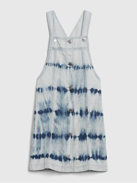 Kids Denim Tie-Dye Skirtall