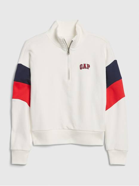 Kids Gap Logo Pull-Over Sweatshirt