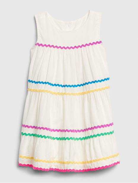 Toddler Ric-Rac Tank Dress