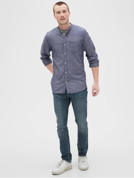 Pocket Linen Shirt