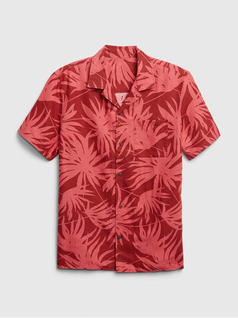 Print Short Sleeve Shirt