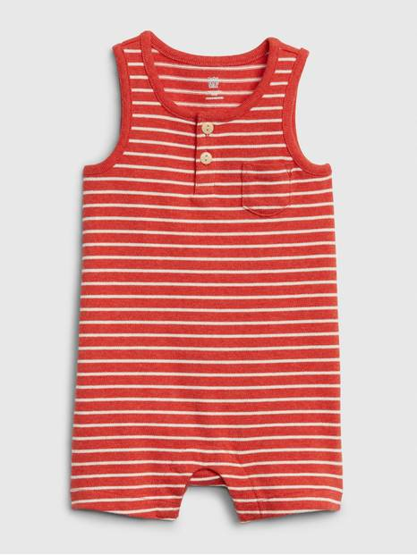 Baby Tank Shorty Striped One-Piece
