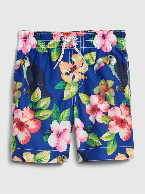 Toddler Toucan Swim Trunks
