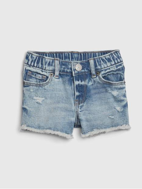 Toddler Destruct Denim Shorts