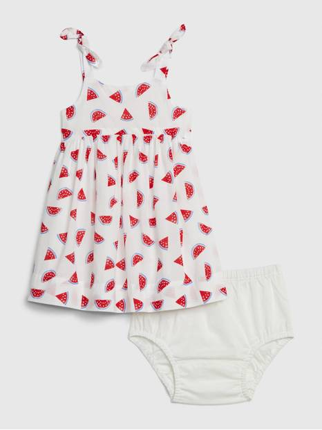Baby Watermelon Dress Outfit Set