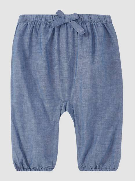 Baby Denim Pull-On Pants