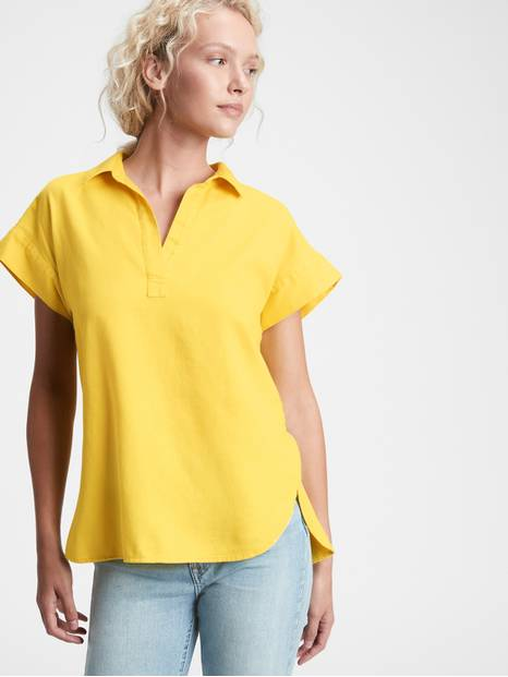 Collared Popover Top