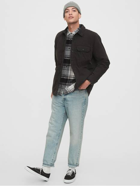 Pocket Flannel Shirt in Standard Fit