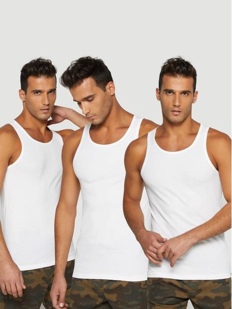 Ribbed Tank Top, 3-Pack