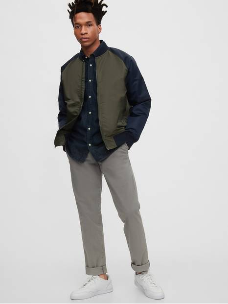 Gap Logo Bomber Jacket