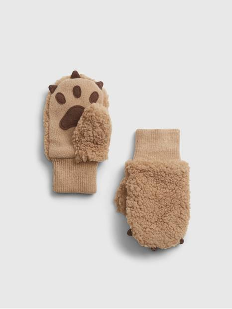 Toddler Bear Mittens