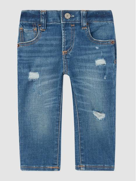 Baby Soft Wear Skinny Destructed Jeans