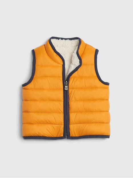 Baby ColdControl Reversible Puffer Vest