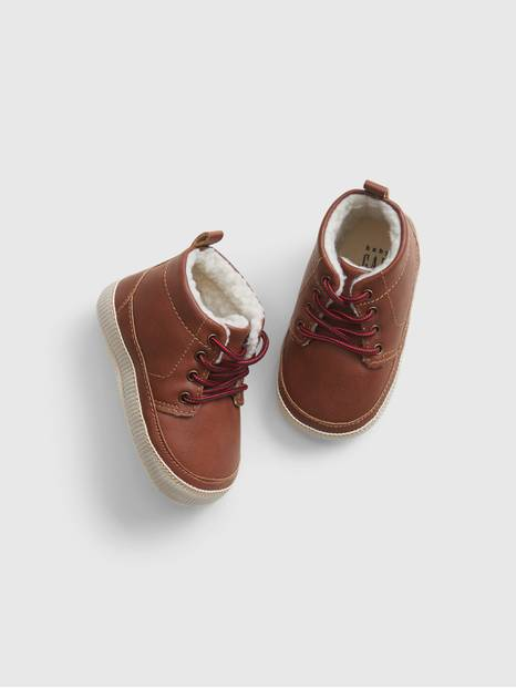 GapBaby Faux Leather Boots