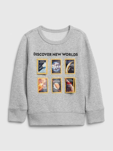 babyGap &#124 National Geographic Crewneck Sweatshirt