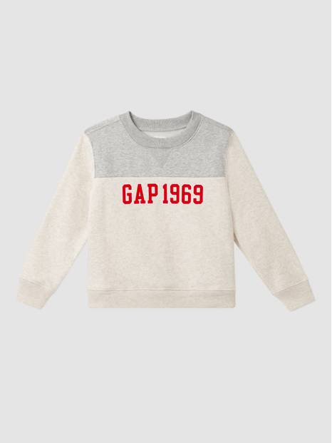 Kids Gap 1969 Logo Color-Block Pullover