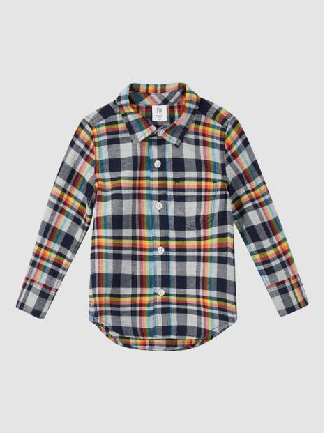 Toddler Flannel Shirt