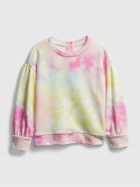 Toddler Tie-Dye Crewneck Sweatshirt