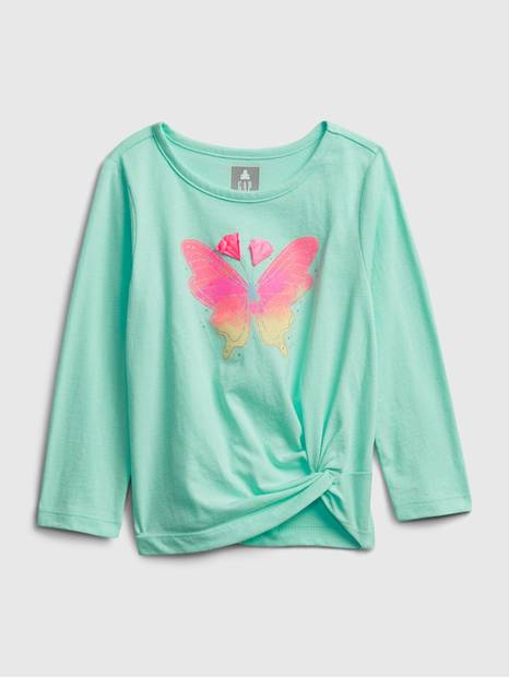 Toddler Butterfly Twist T-Shirt