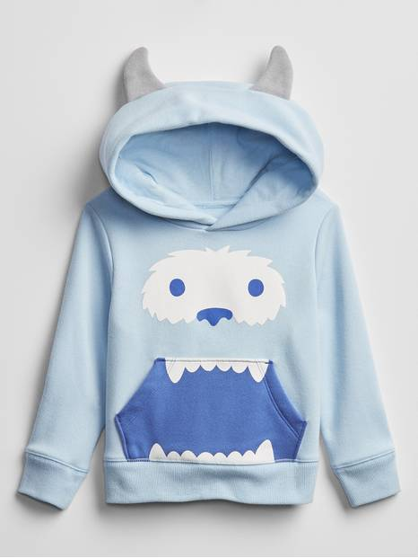 Toddler Monster Hoodie