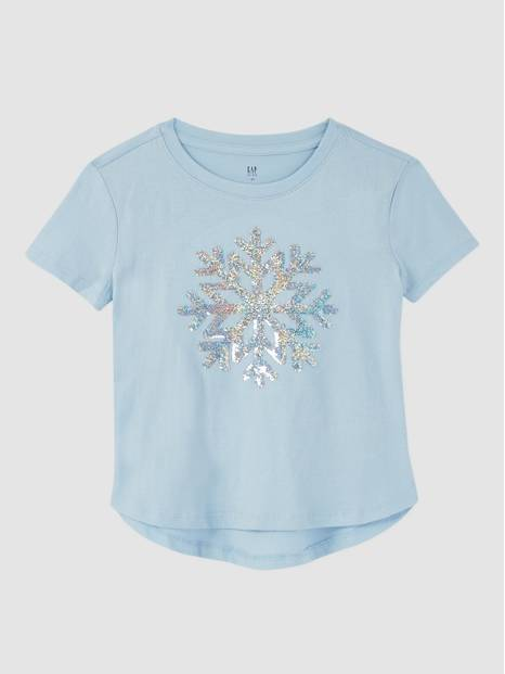 Kids Novelty Flippy Sequins T-Shirt