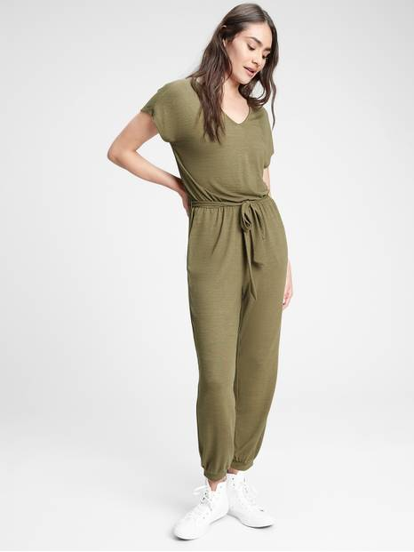 Softspun Drapey Jumpsuit