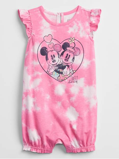 babyGap | Disney Mickey and Minnie Mouse Tie-Dye Shorty One-Piece